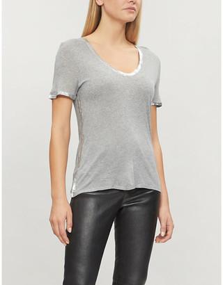96a16b621 Gold Foil T-shirt - ShopStyle Australia