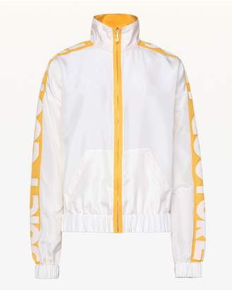 Juicy Couture Habotai Silk Track Jacket