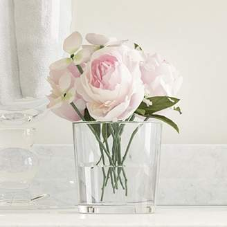 DAY Birger et Mikkelsen Willa Arlo Interiors Hydrangea and Rose Arrangement in Glass Vase