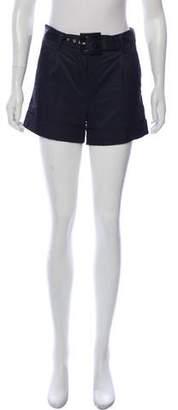 RED Valentino Mid-Rise Mini Shorts