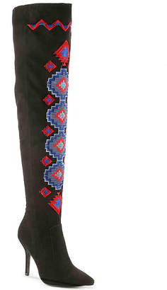 Qupid Mixi 195 Over The Knee Boot - Women's