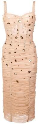 Dolce & Gabbana drape dress