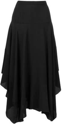 Stella McCartney asymmetric midi skirt
