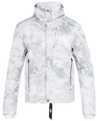 Kru - Stratos K2 Down Filled Hooded Jacket - Mens - White