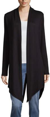 A.N.A Long Sleeve Split Back Cardigan - Tall