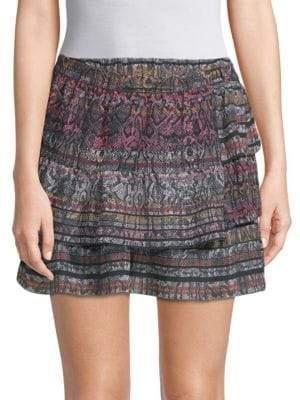 IRO Tucson Silk Mini Skirt