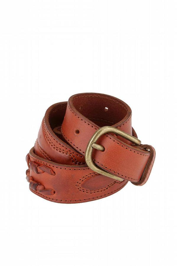 Ecote Braided Twist Leather Belt