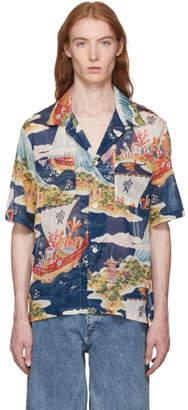 Our Legacy Multicolor Crossing The Seven Seas 2P SL Shirt