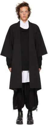 Jan-Jan Van Essche Black Kimono Cardigan