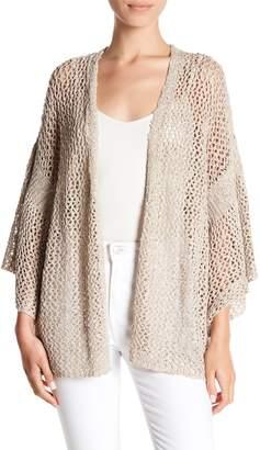 Susina Loose Knit Bell Sleeve Cardigan (Regular & Petite)