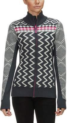 Kari Traa Vinje Full-Zip Knit Jacket - Women's