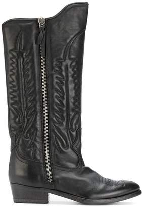 Golden Goose pointed-toe cowboy boots