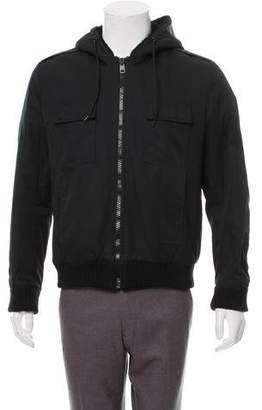 Christian Dior Hooded Twill Jacket