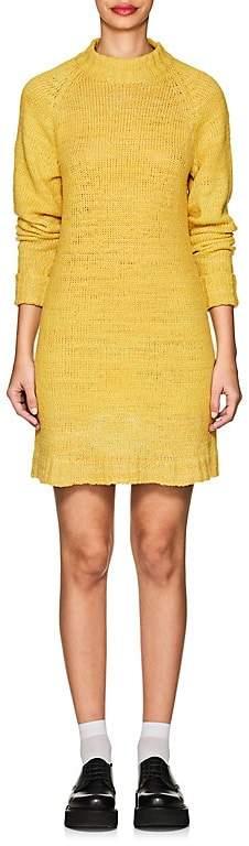 Women's Cashmere Mock Turtleneck Sweaterdress