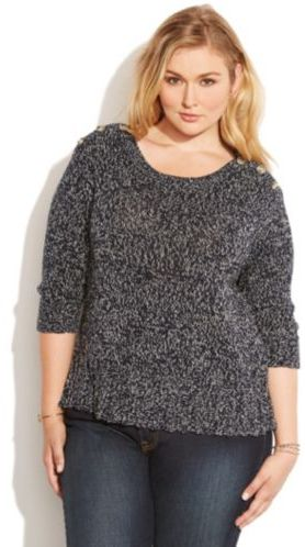 Isabella Collection Marled Sweater