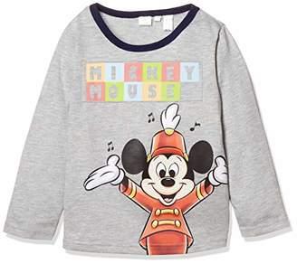 Disney (ディズニー) - [ディズニー] ミッキー長袖Tシャツ ボーイズ 332221004 グレー 日本 95 (日本サイズ95 相当)