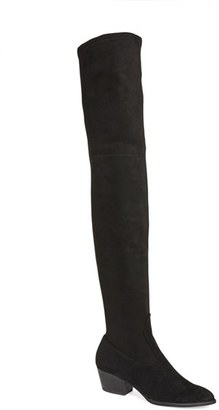 Women's Dolce Vita 'Sparrow' Thigh High Almond Toe Boot $199.95 thestylecure.com