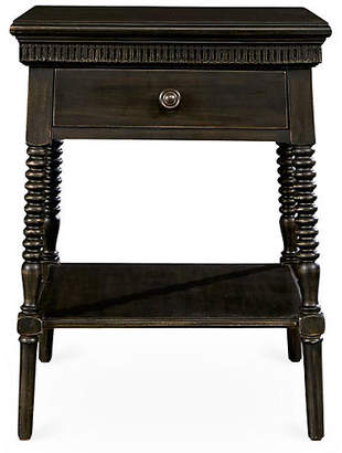 Stone & Leigh Smiling Hill 1-Drawer Nightstand - Java