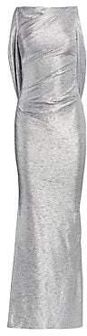 Talbot Runhof Women's Mirrorball Stretch Column Gown