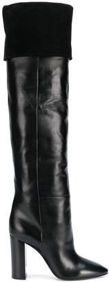 Saint Laurent Lou knee-high boots