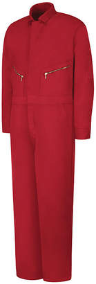 JCPenney Red Kap C18 Zip-Front Cotton Coveralls-Big & Tall