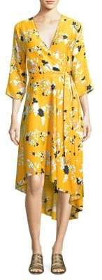 Diane von Furstenberg Silk Floral Dress