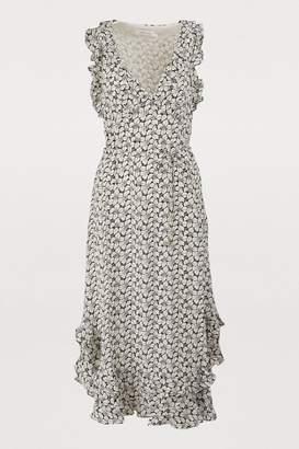 Zimmermann Silk midi dress