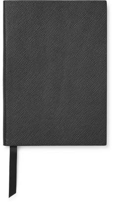 Smythson Panama Soho Cross-grain Leather Notebook