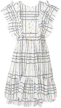 MSGM checked design dress