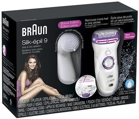 Braun Silk-epil 9 9-579 - Wet & Dry Cordless Epilator