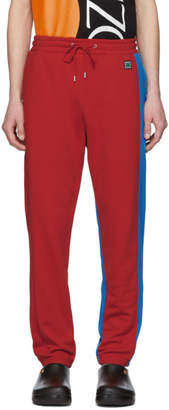 Kenzo Red and Blue Relax Lounge Pants