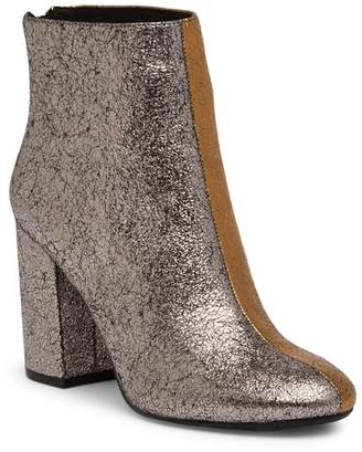 Kenneth Cole New York Cassandra Two-Tone Leather Bootie