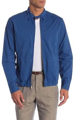 Perry Ellis Zip Front Regular Fit Shirt Jacket