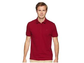Lacoste Short Sleeve Solid Stretch Pique Regular