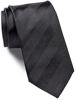HUGO BOSS Silk Tonal Stripes Tie $95 thestylecure.com