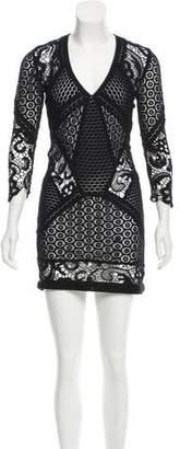 IRO Lace Mini Dress