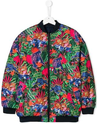 Kenzo Tiger print bomber jacket