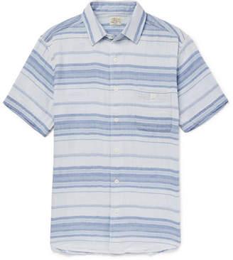 Faherty Ventura Striped Cotton Shirt
