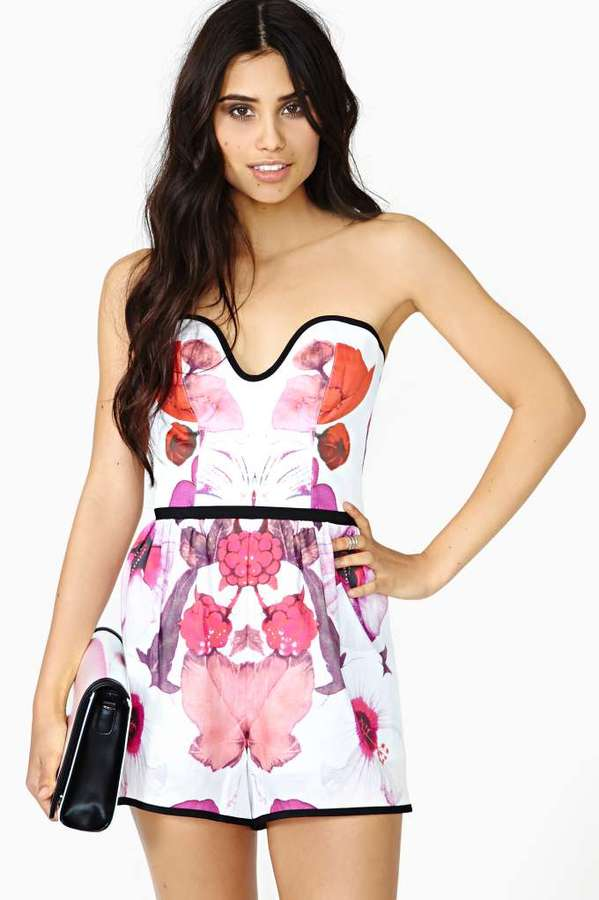 Nasty Gal Alice McCall Morganite Romper