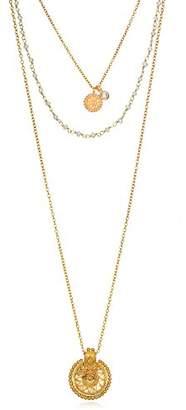 Layer Triple Necklace Gold Pendant - ShopStyle