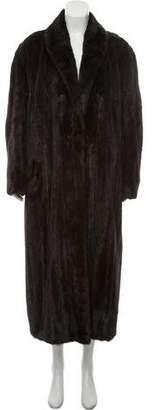Chloé Mink Fur Coat