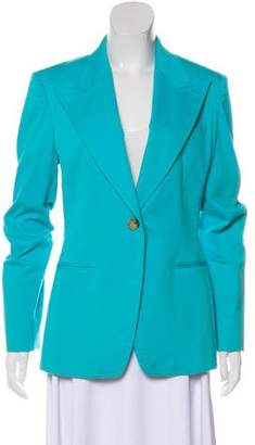 Michael Kors Structured Peak-Lapel Blazer