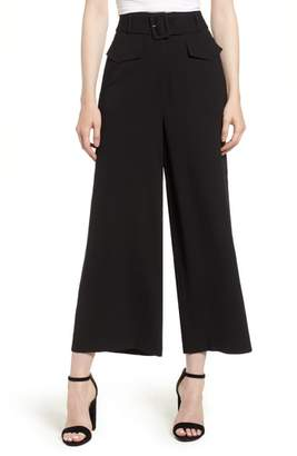 Leith Wide Leg Ankle Pants