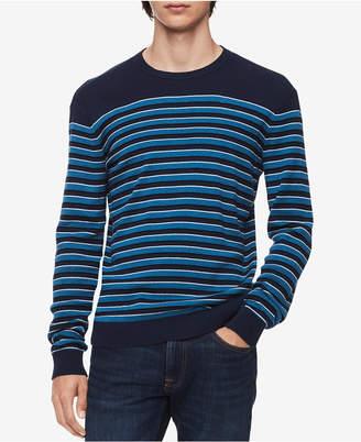 Calvin Klein Men Striped Sweater