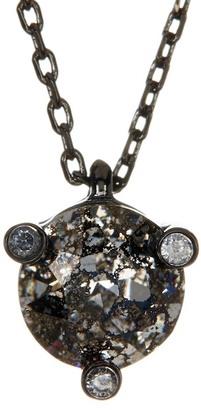 Kate Spade New York Mini Rhinestone Pendant Necklace $68 thestylecure.com