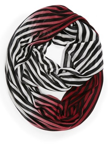 Vince Camuto Dip Dye Stripe Infinity Scarf