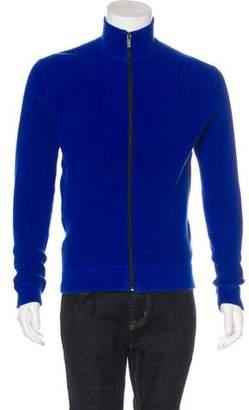 Michael Kors Knit Zip Sweater