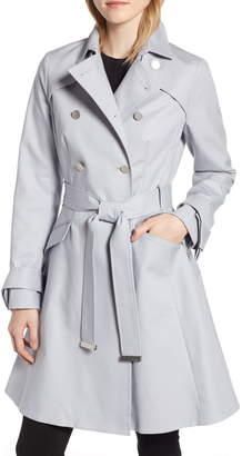 Ted Baker Tie Cuff Detail Trench Coat