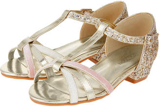 Monsoon Vanessa Shimmer Strappy Sandals