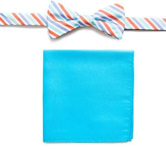 Croft & Barrow Men's Bow Tie Pocket Square Set bow tie and pocket square set.